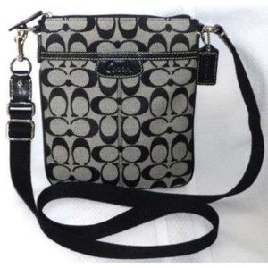Coach Logo crossbody satchel